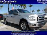 2016 Ford F-150 XLT  in Silver. Wow! What a sweetheart!
