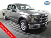 2016 Ford F150 4X2 XLT Super Crew with a 3.5L V6