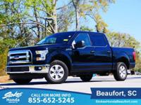 2016 Ford F-150 XLT in Shadow Black. Flex Fuel! Short