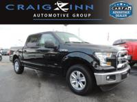 CarFax 1-Owner, This 2016 Ford F-150 XLT will sell fast