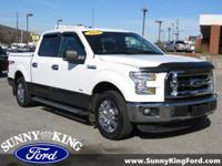 CARFAX One-Owner. Clean CARFAX. White 2016 Ford F-150