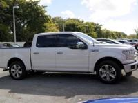 No accidents Clean Carfax. F-150 Platinum, 5.0L V8 FFV,