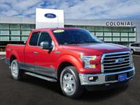 2016 Ford F-150 SuperCab XLT 4 Wheel Drive With