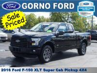 2016 FORD F-150 4X4 SUPERCAB XLT. REAR VIEW