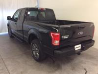 Ford Certified. Shadow Black 2016 Ford F-150 XLT 4WD