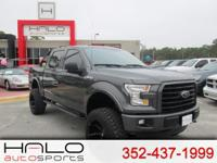2016 FORD F150 XLT CREW CAB FX4 LOADED WITH LEATHER AND