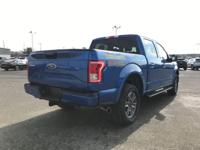CARFAX One-Owner. Certified. Blue 2016 Ford F-150 XLT