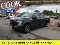 Lithium Gray 2016 Ford F-150 XLT 4WD 6-Speed Automatic