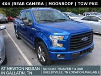4X4 w/ Luxury Group - Moonroof - Tow Pkg 4WD, 10-Way