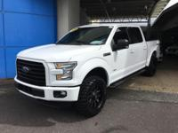 This outstanding example of a 2016 Ford F-150 XLT is