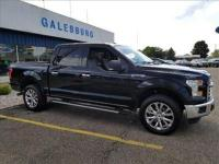 CARFAX One-Owner. Certified.Black 2016 Ford F-150 XLT
