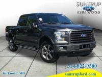 This 2016 Ford F-150 XLT 4X4 features a backup sensor,