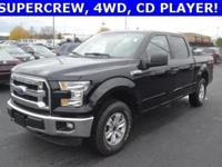 Clean CARFAX. 4WD, 6 Speakers, ABS brakes, AM/FM radio,