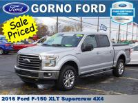 2016 FORD F-150 4X4 SUPERCREW. 5.0L V8 ENGINE,XLT