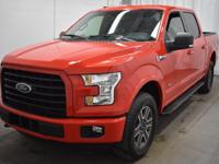 CARFAX One-Owner. Race Red 2016 Ford F-150 XLT