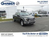 2016 Ford F-150 XLT! Featuring a 5.0L V8 and only