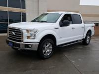 2016 Ford F-150 XLT Oxford White. ABS brakes, Compass,