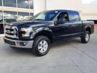 2016 Ford F-150 XLT Shadow Black. ABS brakes, Compass,