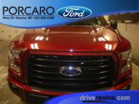 Options:  2016 Ford F-150 Xlt|Ruby Red Metallic Tinted