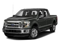 2016 Blue Flame Metallic Ford F-150 XLT 6-Speed