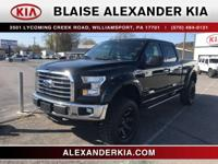 2016 Ford F-150 XLT 5.0L V8 FFV ONE OWNER, FOUR WHEEL