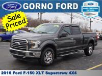 2016 FORD F-150 4X4 SUPERCREW XLT. 5.0L V8 ENGINE. REAR