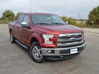This very clean, one owner Ford F150 Lariat SuperCrew