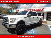 "Very nice 2016 F150 XLT! 6"" Lift with 35"""