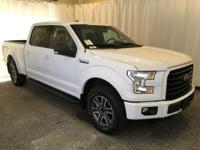 This 2016 Ford F-150 XLT comes equipped with a backup