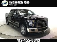 2016 Ford F-150 XLT 4WD CARFAX One-Owner. Clean CARFAX.
