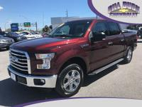 One owner, new Chevrolet trade-in! This 2016 F150 XLT