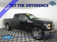 New Price! CARFAX One-Owner. Shadow Black 2016 Ford
