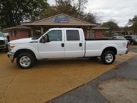 2016 Ford F-250 XLT Crew Cab 4 X 4 Long Bed, 6.2 Liter