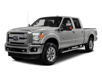 2016 Ford F-250SD Lariat White Platinum Metallic