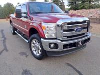 Displayed in Red, our One Owner 2016 Ford F-250 Crew
