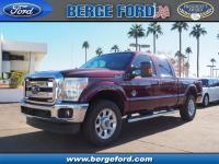 This BRONZE FIRE 2016 Ford F-250 Super Duty Lariat