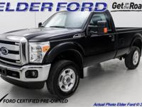 CARFAX One-Owner. 2016 Ford Certified. F-250SD 2D