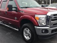 2016 Ford F-250SD XLT Ruby Red Metallic Tinted