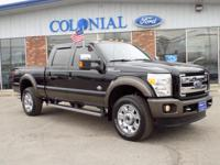 2016 Ford F-350 King Ranch SuperCrew Cab 4 Wheel Drive