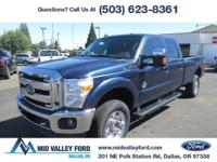 2016 FORD F350 XLT CREW CAB 4X4 EQUIPPED WITH 613A