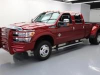 This awesome 2016 Ford F-350 4x4 Diesel comes loaded