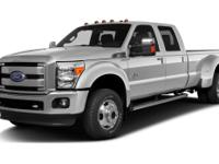 CARFAX One-Owner. Clean CARFAX. 2016 Ford F-350SD