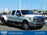 Options:  2016 Ford Super Duty F-350 Drw Lariat|White