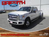 Look no further this 2016 Ford F-350 Lariat 4x4 SD Crew