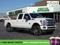 This 2016 Ford Super Duty F-350 SRW Platinum will sell