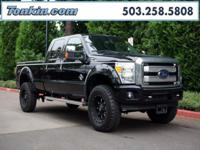 WOW!!! Check out this. 2016 Ford F-350SD Platinum