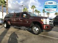 CARFAX One-Owner. Certified. Bronze 2016 Ford F-350SD