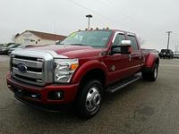 Options:  2016 Ford F-350Sd Platinum|Red|Recent