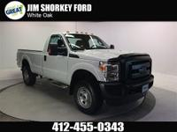 2016 Ford F-350SD 4WD New Price! CARFAX One-Owner.