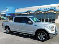 CARFAX One-Owner. SILVER 2016 Ford F-150 RWD 6-Speed